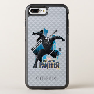 Black Panther | High-Tech Character Graphic OtterBox Symmetry iPhone 8 Plus/7 Plus Case