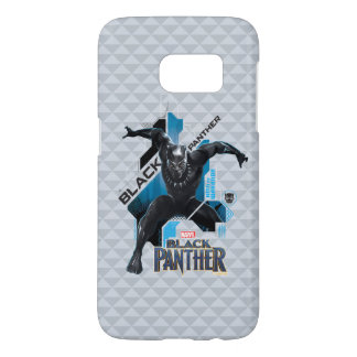 Black Panther | High-Tech Character Graphic Samsung Galaxy S7 Case