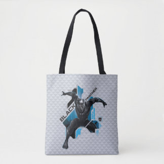 Black Panther   High-Tech Character Graphic Tote Bag