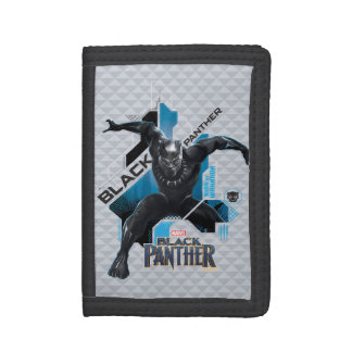 Black Panther | High-Tech Character Graphic Tri-fold Wallets