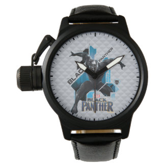Black Panther   High-Tech Character Graphic Watch