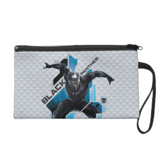 Black Panther | High-Tech Character Graphic Wristlet