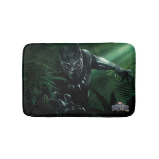 Black Panther | In The Jungle Bath Mat