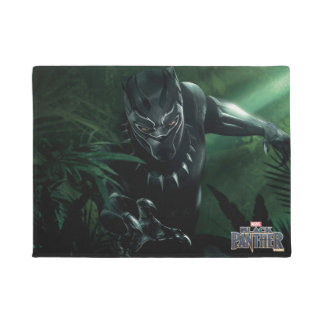 Black Panther | In The Jungle Doormat