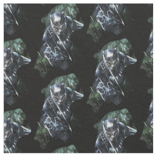 Black Panther | In The Jungle Fabric