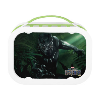 Black Panther   In The Jungle Lunch Box