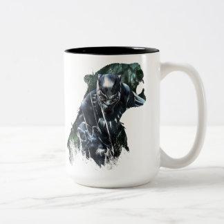 Black Panther | In The Jungle Two-Tone Coffee Mug