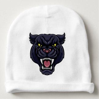 Black Panther Mascot Baby Beanie