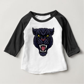 Black Panther Mascot Baby T-Shirt