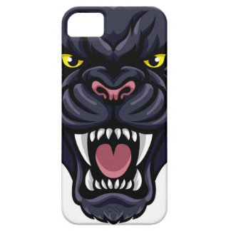 Black Panther Mascot iPhone 5 Covers