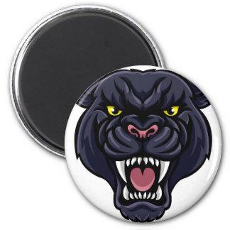 Black Panther Mascot Magnet