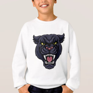 Black Panther Mascot Sweatshirt