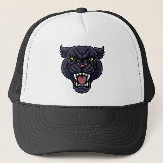 Black Panther Mascot Trucker Hat