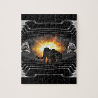 Black Panther Music Video Theme Jigsaw Puzzle