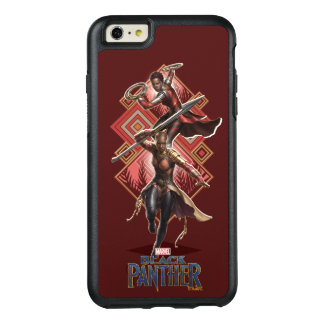 Black Panther | Nakia & Okoye Wakandan Graphic OtterBox iPhone 6/6s Plus Case