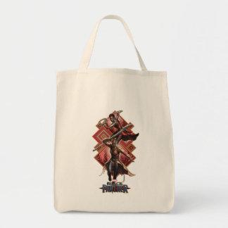 Black Panther   Nakia & Okoye Wakandan Graphic Tote Bag
