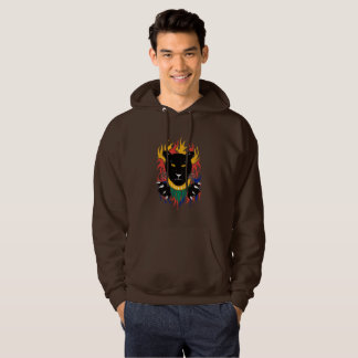 Black Panther on hoodie