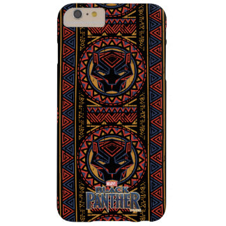Black Panther | Panther Head Tribal Pattern Barely There iPhone 6 Plus Case