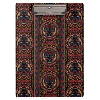 Black Panther | Panther Head Tribal Pattern Clipboard