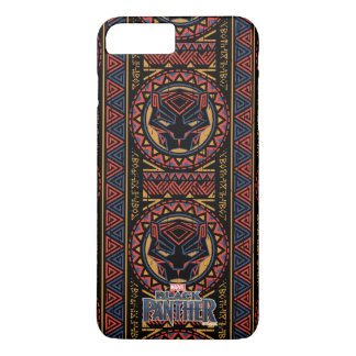 Black Panther | Panther Head Tribal Pattern iPhone 8 Plus/7 Plus Case