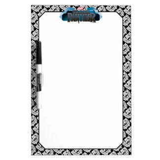 Black Panther | Panther Head Typography Graphic Dry Erase Board