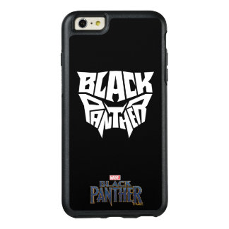 Black Panther | Panther Head Typography Graphic OtterBox iPhone 6/6s Plus Case