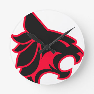 Black Panther Round Clock