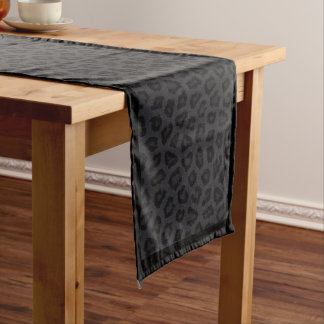 Black Panther Spots Long Table Runner