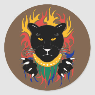 Black Panther stickers
