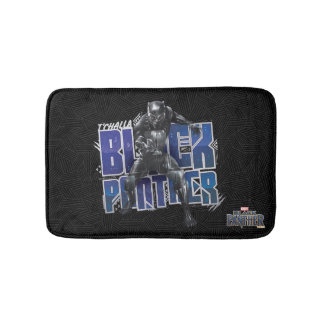Black Panther | T'Challa - Black Panther Graphic Bath Mat