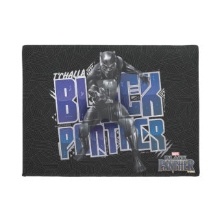 Black Panther | T'Challa - Black Panther Graphic Doormat