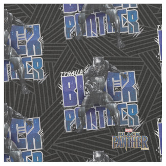 Black Panther | T'Challa - Black Panther Graphic Fabric