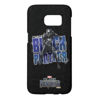 Black Panther   T'Challa - Black Panther Graphic Samsung Galaxy S7 Case