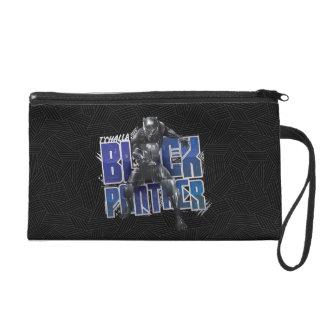 Black Panther | T'Challa - Black Panther Graphic Wristlet