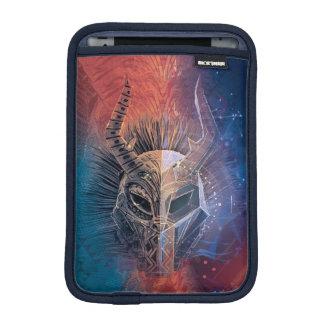 Black Panther | Tribal Mask Overlaid Art iPad Mini Sleeve
