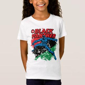 Black Panther Vintage Patriotic Graphic T-Shirt