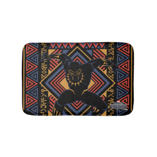 Black Panther | Wakandan Black Panther Panel Bath Mat