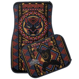 Black Panther   Wakandan Black Panther Panel Car Mat