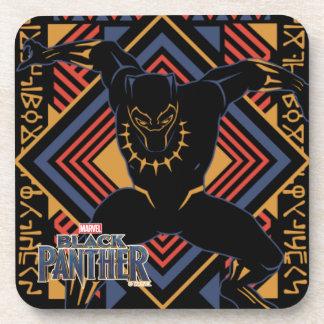 Black Panther | Wakandan Black Panther Panel Coaster