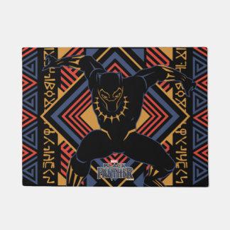 Black Panther | Wakandan Black Panther Panel Doormat