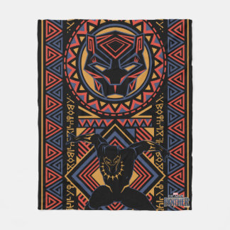 Black Panther | Wakandan Black Panther Panel Fleece Blanket