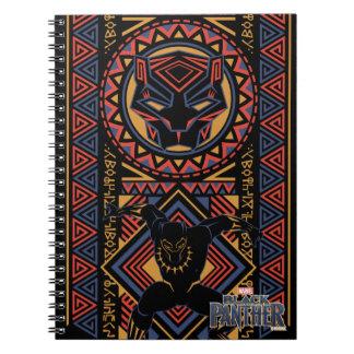 Black Panther | Wakandan Black Panther Panel Notebooks