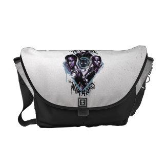 Black Panther | Wakandan Warriors Graffiti Courier Bag