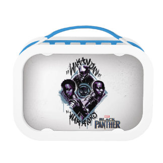 Black Panther | Wakandan Warriors Graffiti Lunch Box