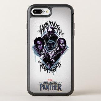 Black Panther | Wakandan Warriors Graffiti OtterBox Symmetry iPhone 8 Plus/7 Plus Case