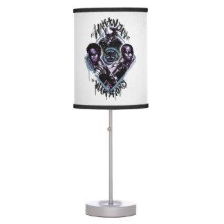 Black Panther | Wakandan Warriors Graffiti Table Lamp