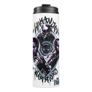 Black Panther | Wakandan Warriors Graffiti Thermal Tumbler