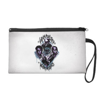 Black Panther | Wakandan Warriors Graffiti Wristlet