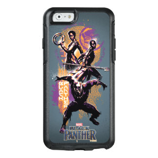 Black Panther | Wakandan Warriors Painted Graphic OtterBox iPhone 6/6s Case