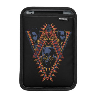 Black Panther | Wakandan Warriors Tribal Panel iPad Mini Sleeve